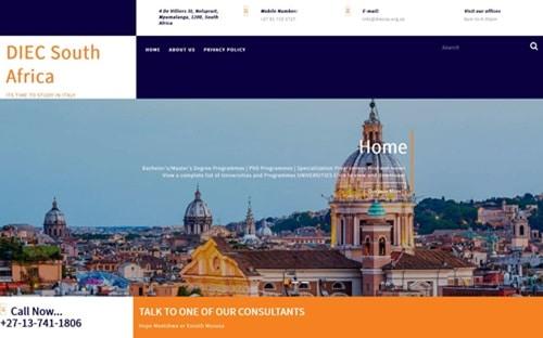 DIECSA Website Banner