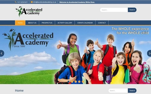 Accelerated Academy Website Banner