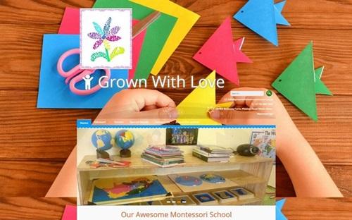 Montesorri School Website Banner