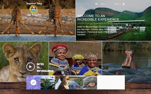 Sandriver Tours & Transfers Website Banner