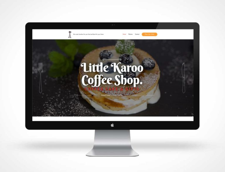 screenshot of Little Karoo Coffee Shop