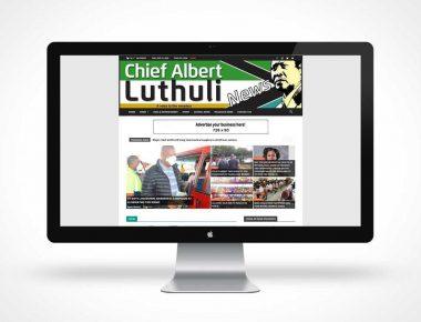 Chief Albert Luthuli News-Display-Mockup